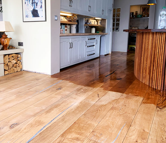 wood floor renovation services in cornwall