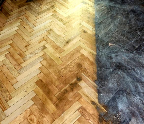 renovate oak flooring